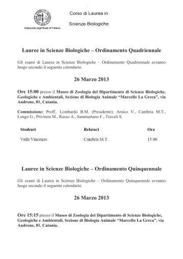 Calendario Esami Unina Ingegneria Informatica.Calendario Esami Unict