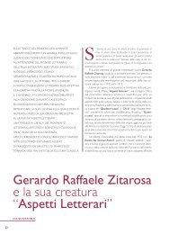 Gerardo Raffaele Zitarosa e la sua creatura - Consiglio Regionale ...
