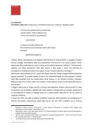 Architettura della luce - Luca Moretto Architetto