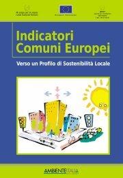 Indicatori Comuni Europei - Coordinamento Agende 21 Locali Italiane