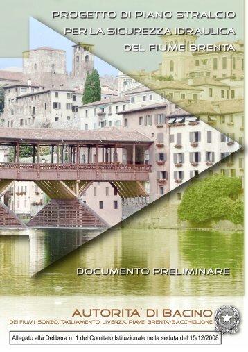 Documento preliminare - Autorità di Bacino dei fiumi dell'Alto Adriatico