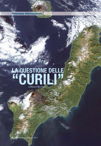 """La questione delle """"Curili"""" - Ministero della Difesa"""