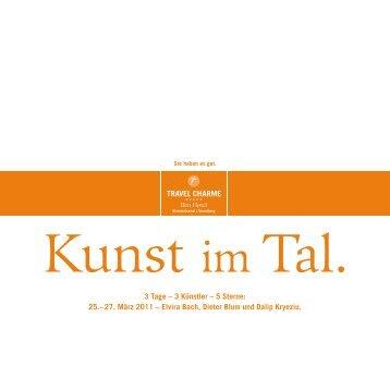 3 Tage – 3 Künstler – 5 Sterne: 25.– 27. März 2011 – Elvira Bach ...
