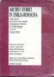 Archivi storici in Emilia-Romagna - xDams