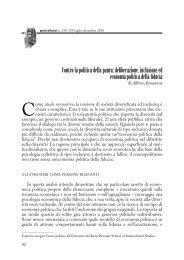 Contro la politica della paura - Consiglio italiano per le Scienze Sociali