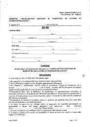 Spett. Salerno Pulita S.p.A. - Comune di Salerno