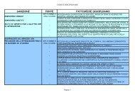 tabella infrazioni - Comune di Bologna