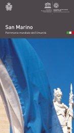 Guida San Marino Patrimonioo dell'Umanità - Ufficio di Stato per il ...