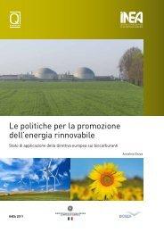 Le politiche per la promozione dell'energia ... - DSpace - Inea
