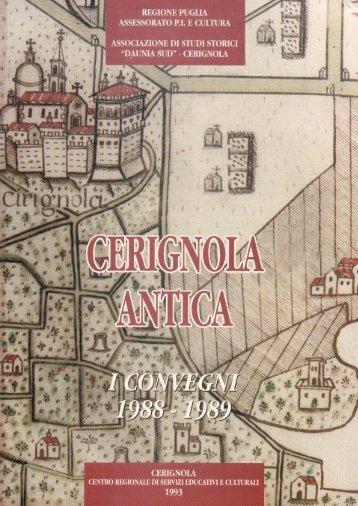 Alta qualità - Città di Cerignola