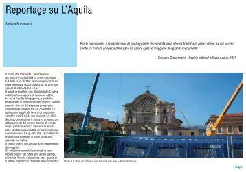 Reportage su L'Aquila - Architettura ed urbanistica