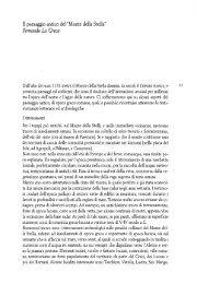 Il paesaggio antico del Monte della Stella - Università degli Studi di ...