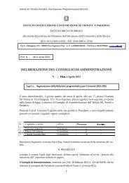 Delibera n.2 del 4 marzo 2013 scarica il PDF - isstep.it