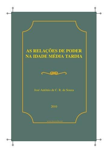 As Relações de Poder na Idade Média Tardia. Marsílio ... - LusoSofia