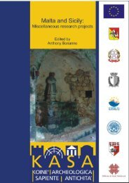 Malta and Sicily: Miscellaneous research projects