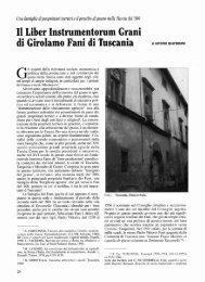 Il Liber Instrumentorum Grani di Girolamo Fani di Tuscania