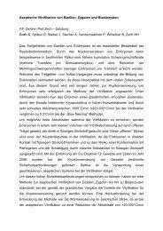 Aseptische Vitrifikation von Eizellen, Zygoten und Blastozysten IVF ...