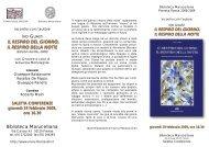Scarica l'invito con la bibliografia delle opere di Ivo Guasti
