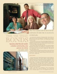 Apodaca Bail Bonds builds a better community, one person at a time