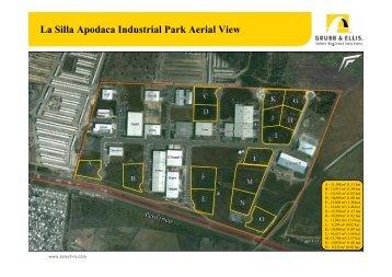 La Silla Apodaca Industrial Park Aerial View