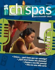 Revista: Chispas No.14 - Conafe