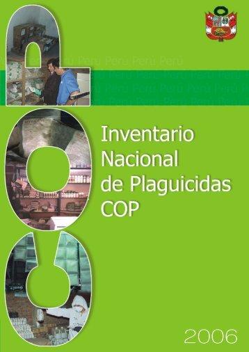 Inventario Nacional de Plaguicidas - Ministerio del Ambiente