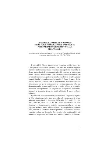 1977 parte I (file pdf - Kb. 842) - Biblioteca Provinciale di Foggia La ...