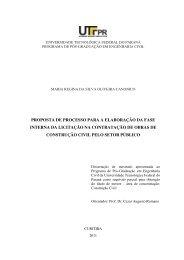 proposta de processo para a elaboração da fase interna ... - UTFPR