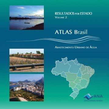 ATLAS Brasil - Abastecimento Urbano de Água - Ana
