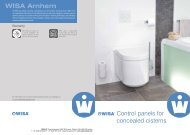 WISA Control panels for concealed cisterns (pdf)