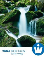 Water Saving Technology (pdf) - WISA