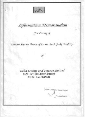 downloads/ipo/2013415181643Information Memorandum.pdf - BSE