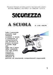 Brochure Sicurezza - Da Vinci Chelini