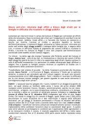 Misure anti-crisi: riduzione degli affitti e blocco degli sfratti per le ...