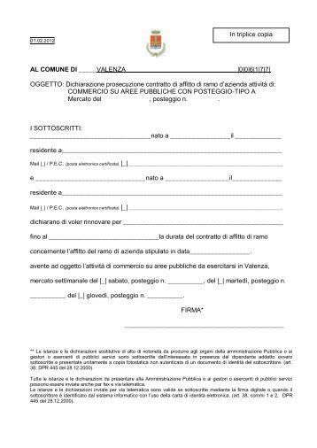 Raggruppamento temporaneo di imprese affitto di ramo d for Contratto di locazione