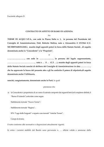 8 free magazines from comuneacqui com for Contratto affitto