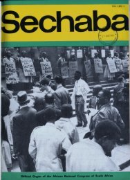 Sechaba Volume 1 Number 4 April 1967 - DISA