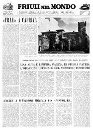 FRIUU NELMONDO - Ente Friuli nel Mondo