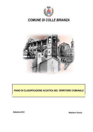 Relazione PdZ Colle Brianza .pdf - Eventi e News