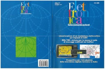 Dicembre 1999 - Centro Ricerche e Innovazione Tecnologica