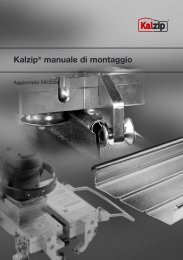 Kalzip® manuale di montaggio