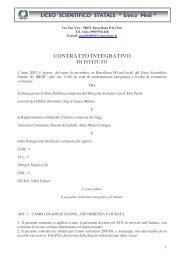 Contrattazione d'Istituto 2007/08 - Liceo Scientifico & Linguistico E ...
