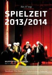 Spielzeitbuch 2013/2014 - Wuppertaler Bühnen