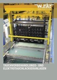 tauchvorbehandlungs - Wurster Oberflächentechnik GmbH