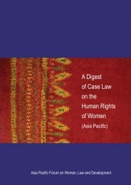 A Digest of Case Law on the Human Rights of Women - Asia Pacific ...