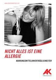 NICHT ALLES IST EINE ALLERGIE - Arbeiterkammer Oberösterreich