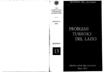 Quaderno on-line - Centro Studi del Lionismo