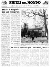 Ente Friuli nel Mondo