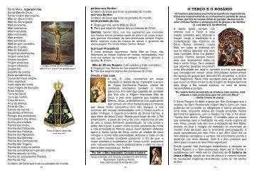 Folheto em PDF 1 (com imagens coloridas). - Catolicos Alerta!