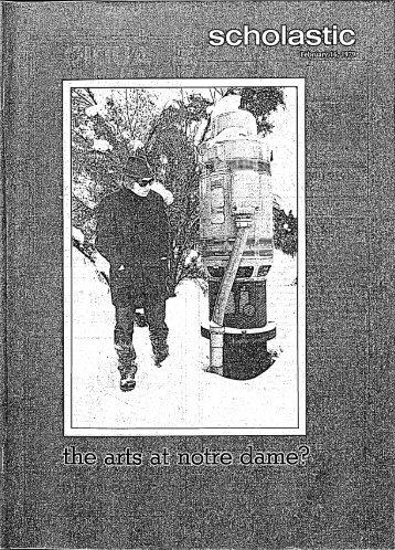 Notre Dame Scholastic, Vol. 120, No. 08 -- 16 February 1979
